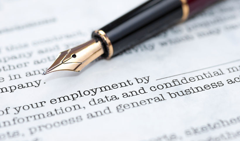 Beautiful Employment Contract In Thailand