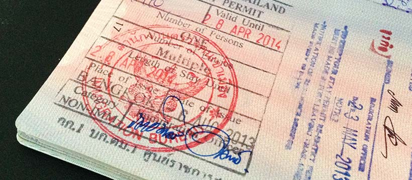 Thai Re-entry Permit