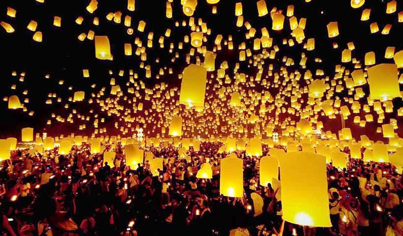 Thailand Sky Lanterns