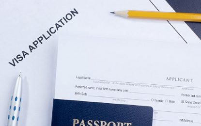 Application form for Visa on Arrival