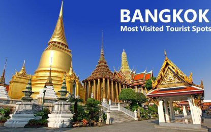 Most Visited Tourist Spots in Bangkok