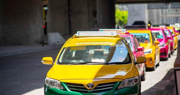 Bangkok Taxi Cabs