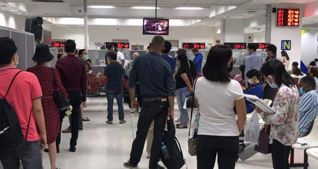 Thai Immigration Queue