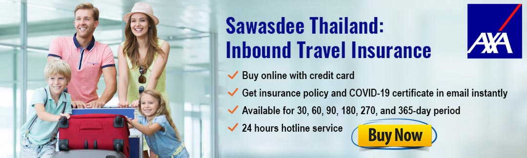 AXA Thailand COVID-19 Travel Insurance