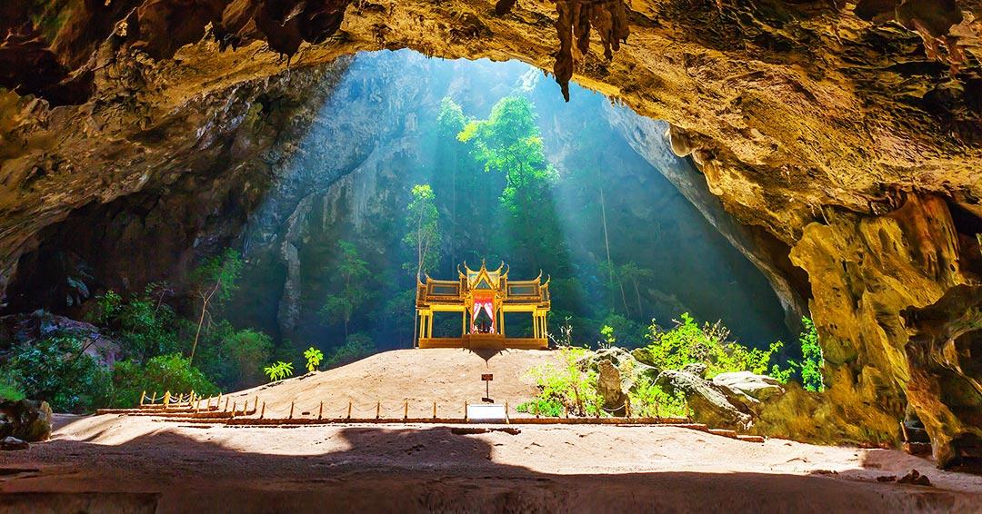 Phraya Nakhon Caves in Hua Hin