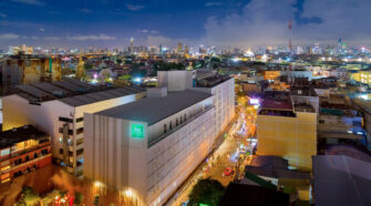 ibis Styles Bangkok Hotel Top View